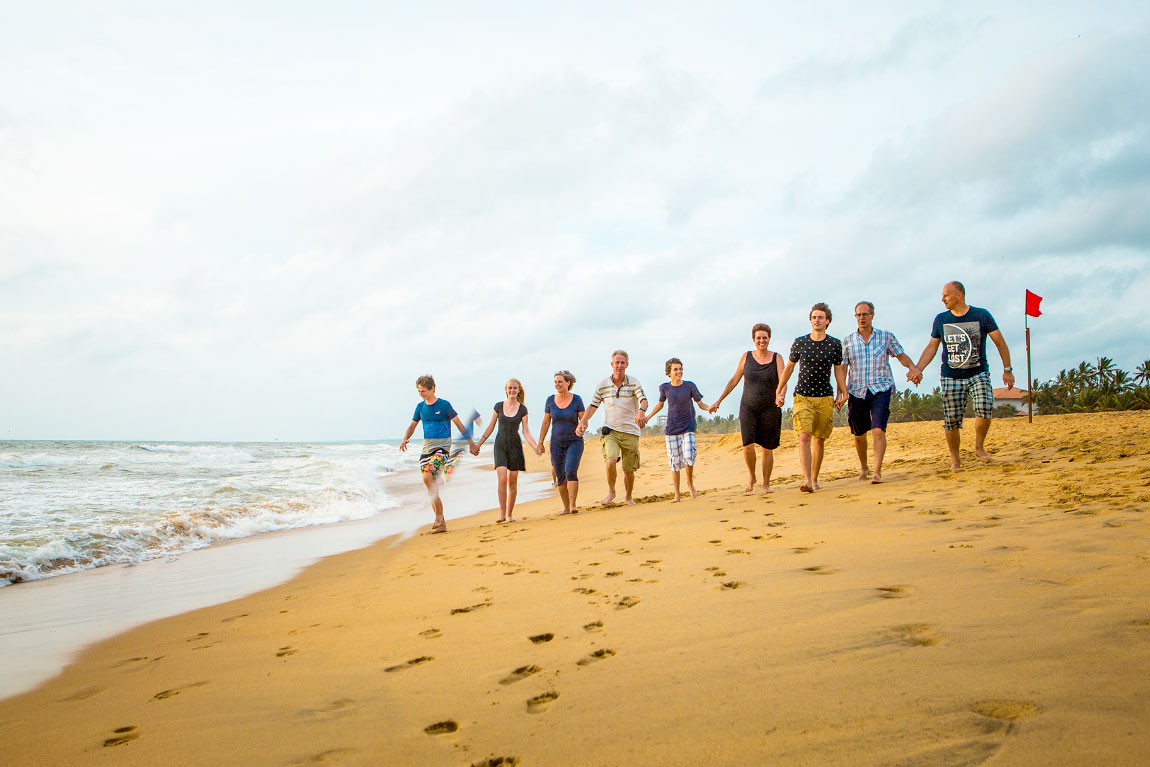 Dutch Family shoot in Negombo beach, Sri Lanka